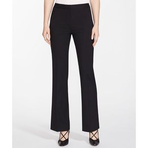 Lafayette 148 black trouser pant suiting career